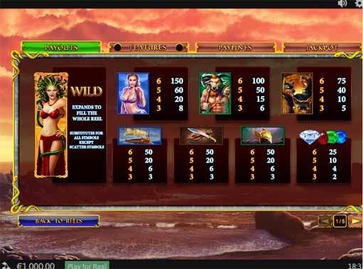 Age of the Gods Medusa & Monsters Slot Bonus