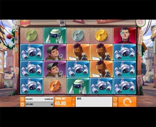 Big Bot Crew Slot Game Reels