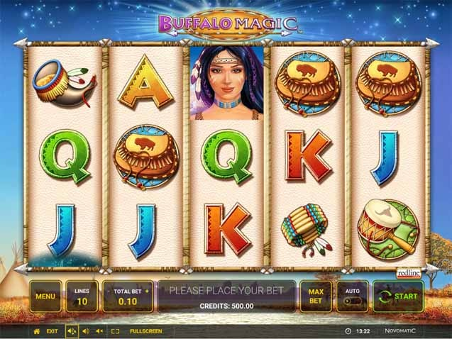 Buffalo Magic Slot Game Reels