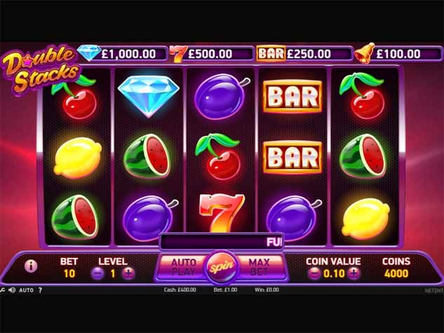 Double Stacks Slot Game Reels