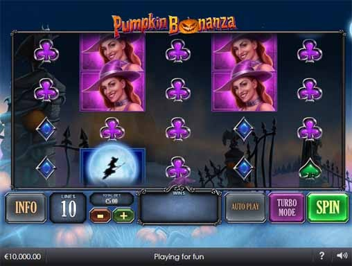 Pumpkin Bonanza Slot Game Reels