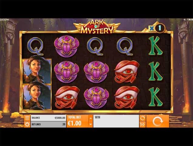 Ark of Mystery Slot Game Reels