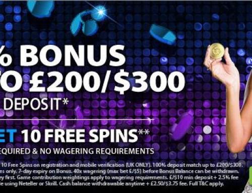 New BGO Welcome Bonus for UK Players