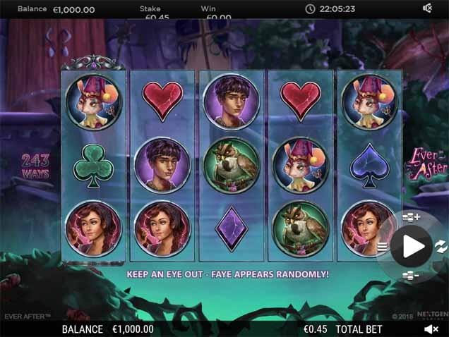 Ever After Slot Game Reels