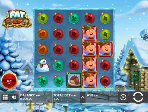 Fat Santa Slot Game Reels