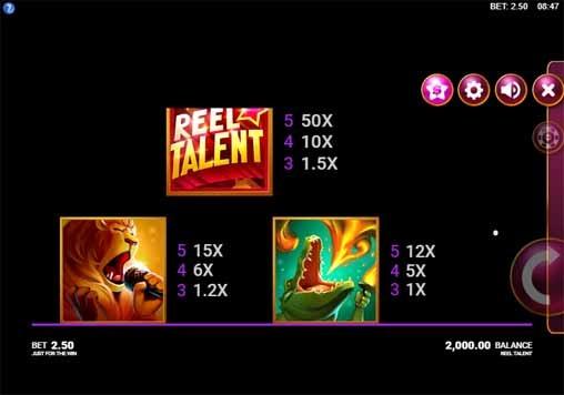 Reel Talent Slot Bonus