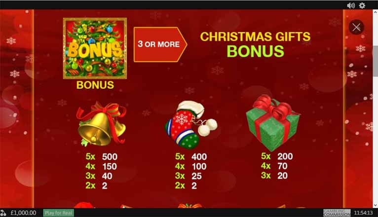 Santa Surprise Slot Bonus