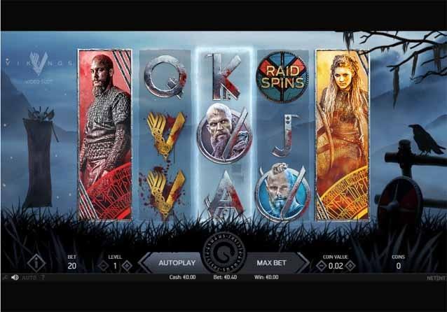 Vikings Slot Game Reels