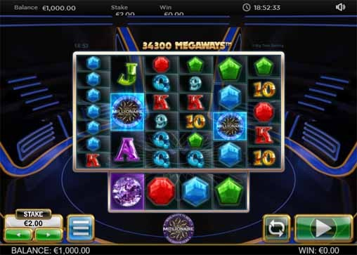 Who Wants to Be a Millionaire Slot Game Reels