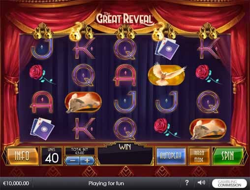 The Great Reveal Slot Game Reels