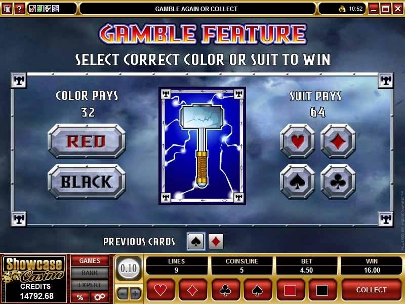Thunderstruck Slot Bonus