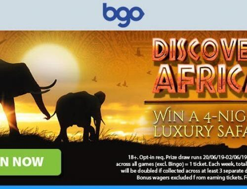 Discover Africa with BGO Casino!