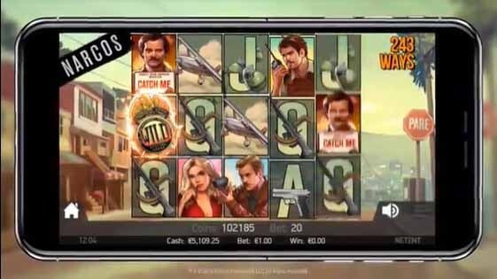Narcos Slot Mobile