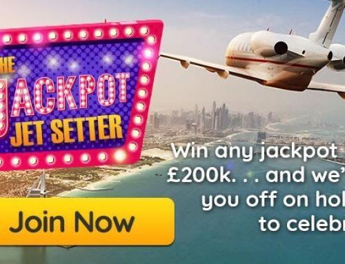 Power Spins – The Jackpot Jet Setter!