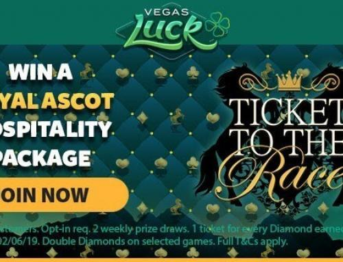 Win a Royal Ascot VIP Package with Vegas Luck