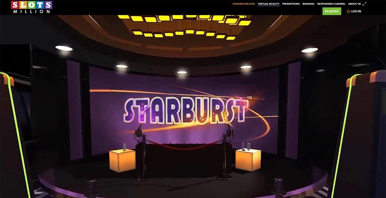 Slots Million Virtual Reality Casino
