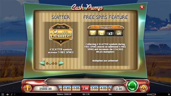 Cash Pump Slot Bonus
