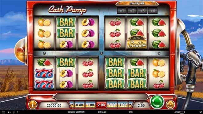 Cash Pump Slot Reels