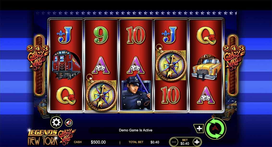 Legend of New York Slot Reels