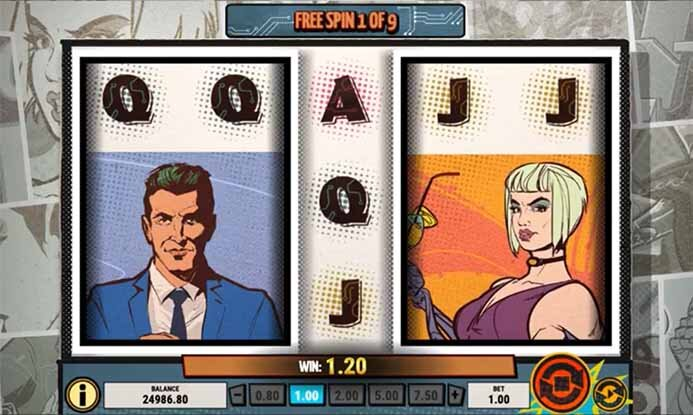 Agent Destiny Slot Free Spins