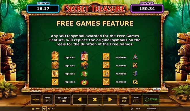 Secret Treasure Slot Bonus