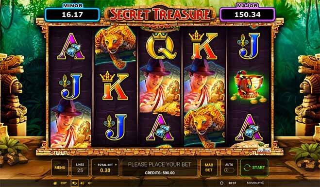 Secret Treasure Slot Reels