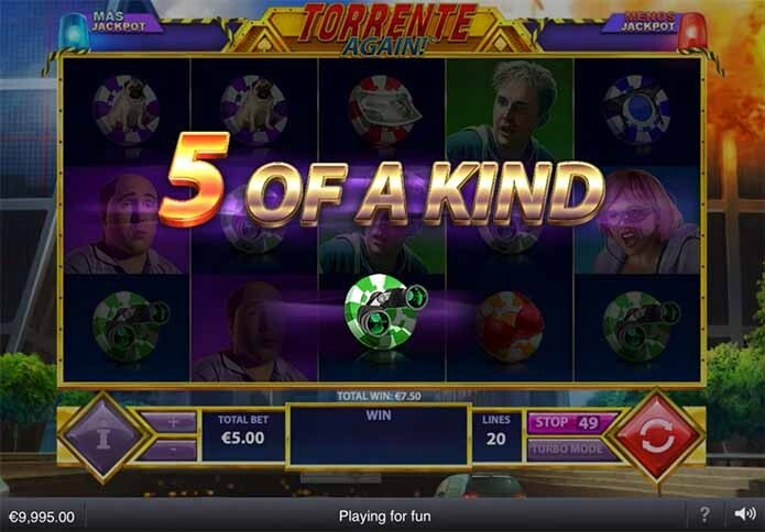 Torrente Again Slot Bonus Feature