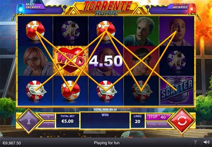 Torrente Again Slot Bonus