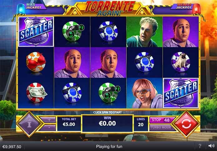 Torrente Again Slot Reels