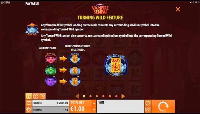 Vampire Senpai Slot Bonus
