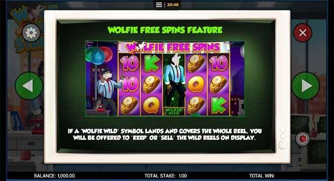 Wolf on Win Street Slot Bonus